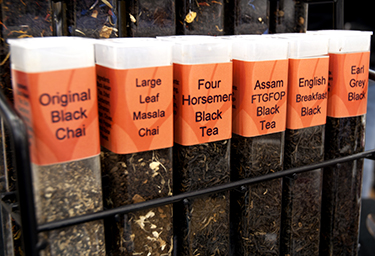 Tea. Interesting names.