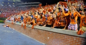 THe student section at Jordan-Hare Stadium