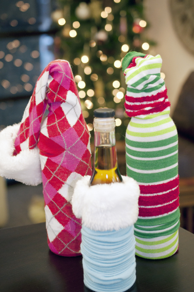 The Easy Way to Wrap a Wine Bottle