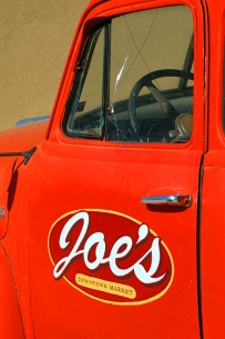 A truck that belonged to Joe's Market in Jonesboro, Arkansas on Main Street in 2006. www.hannahandharley.com