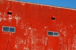 This is part of a building that now no longer exists. It was torn down shortly after these photos were taken in 2006. www.hannahandharley.com