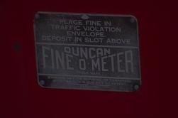 On a meter on Main Street. www.hannahandharley.com