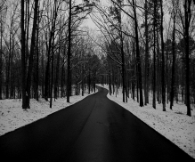 This photo was after a light dusting at Craighead Forest Park in Jonesboro, Arkansas from www.hannahandharley.com