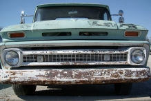 An old Chevrolet truck from www.hannahandharley.com